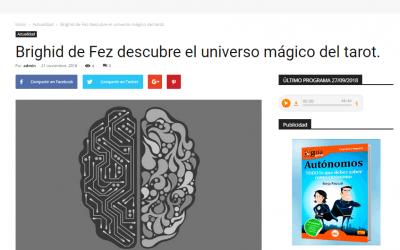 Brighid de Fez descubre el universo mágico del tarot en Colaborum.