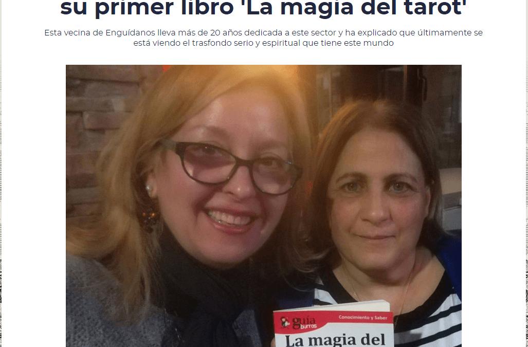 Entrevista a Brighid de Fez, autora del GuíaBurros: La magia del Tarot en Radio 90 Motilla, de Cadena SER